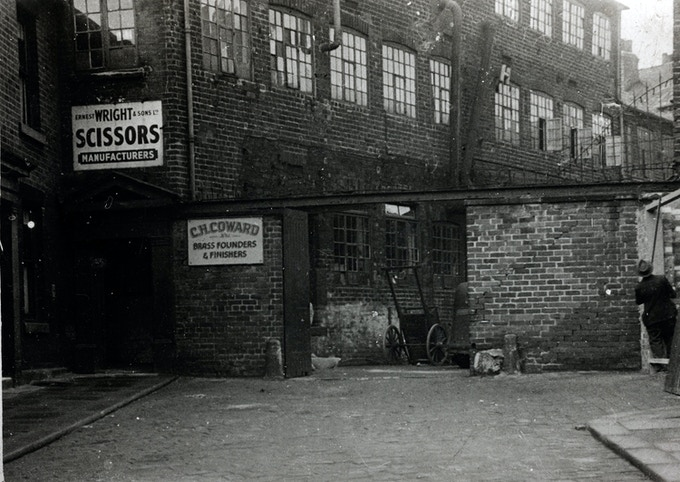 Premises: Ernest Wright and Son Ltd, Talbot Works, Reed Street, Sheffield S3 (circa 1938)
