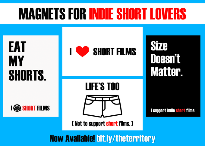 $40 Reward: Magnet 4 Indie Short Lovers