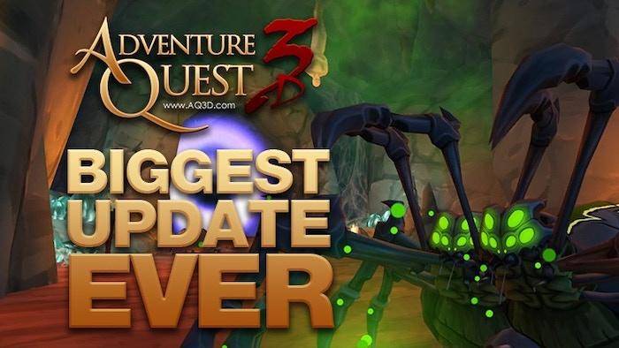 AdventureQuest 3D by Artix Entertainment, LLC » New Dungeon