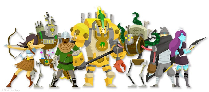 Catacombs & Castles Characters