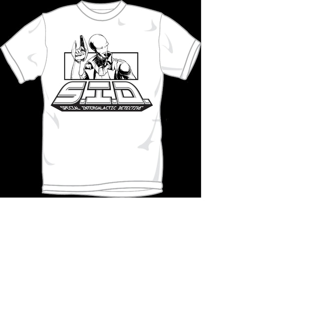 SID T-Shirt (black and white or color available).