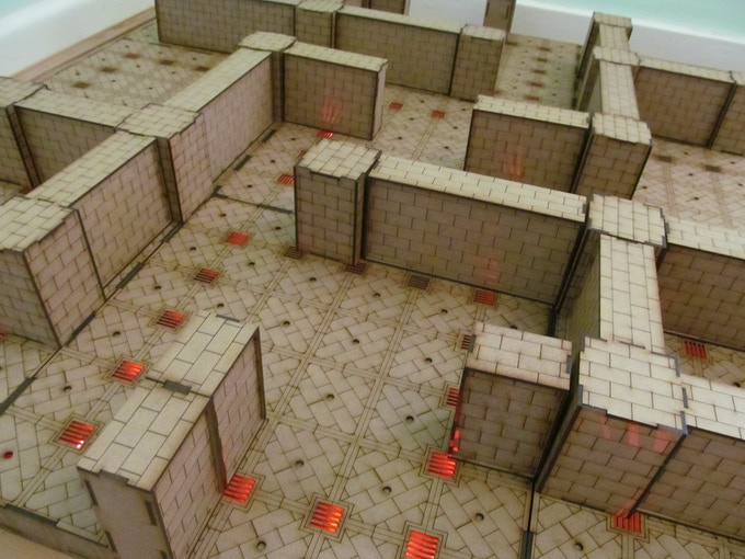 3x3 Dungeon Board