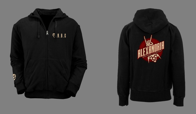Zip-Up Hoodie (Sizes S-XXL Available)