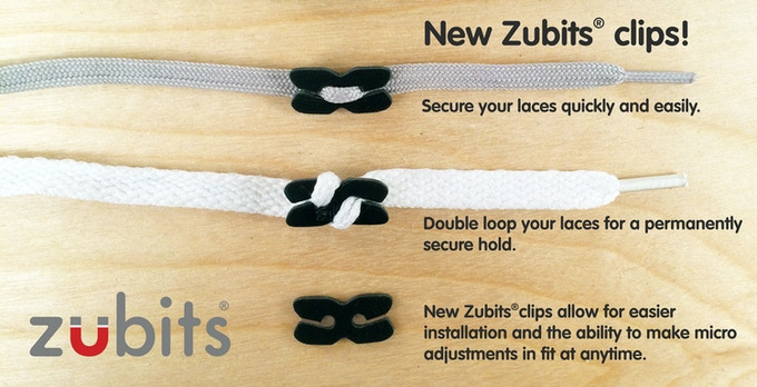 Newly designed clips help you secure your laces quickly and easily, allowing you to make micro fit adjustments (looser or tighter) at any time and makes installation easier than before.