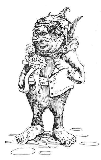 Gustav, the Mayor welcomes you to Brindle!
