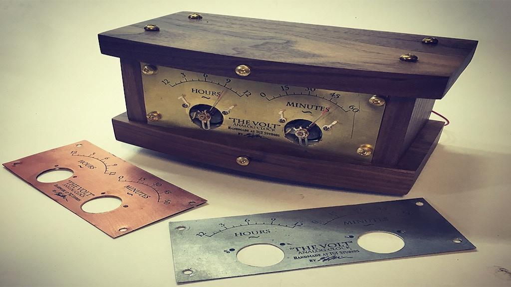The Volt - Retro Futurist, Arduino-Based, Open Source Clock project video thumbnail