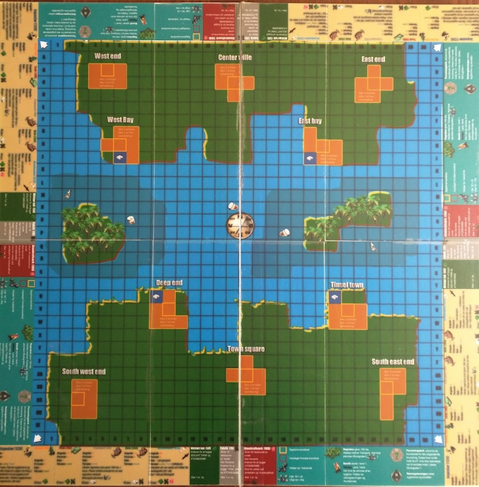 The 11th board. Last graphic layout, before the designer did his work
