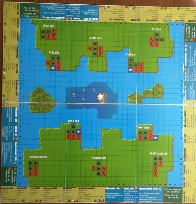 The 7th board. Another different layout