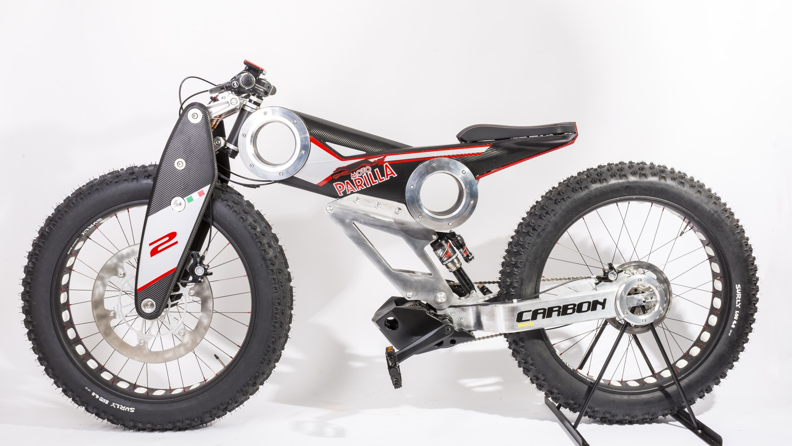 New Carbon SUV e-bike by Moto Parilla — Kickstarter
