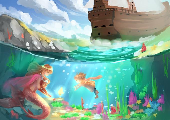 Exploring the lagoon & meeting the mermaid queen