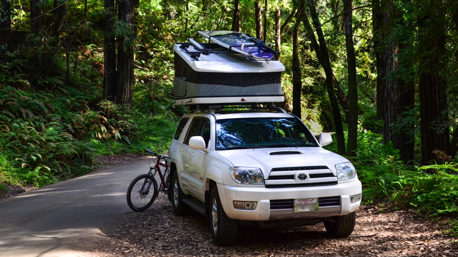 Tepui Project White Lightning - Hard Shell Roof Top Tent by