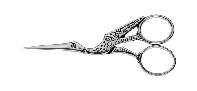 Ernest Wright 'Antique Stork' Embroidery Scissors