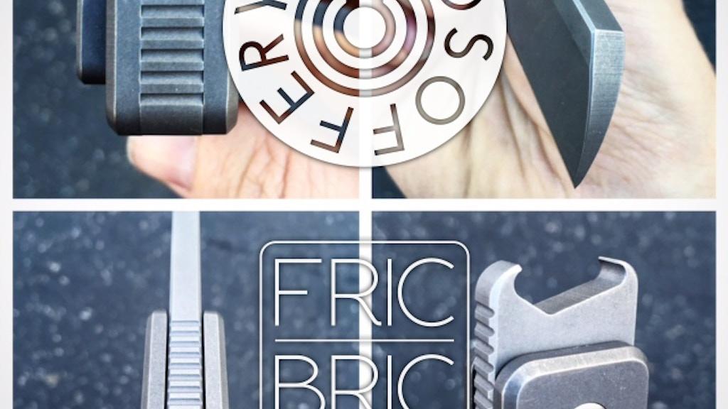 vosofferyn fricbric friction folding blade bottle opener by vosofferyn kickstarter. Black Bedroom Furniture Sets. Home Design Ideas