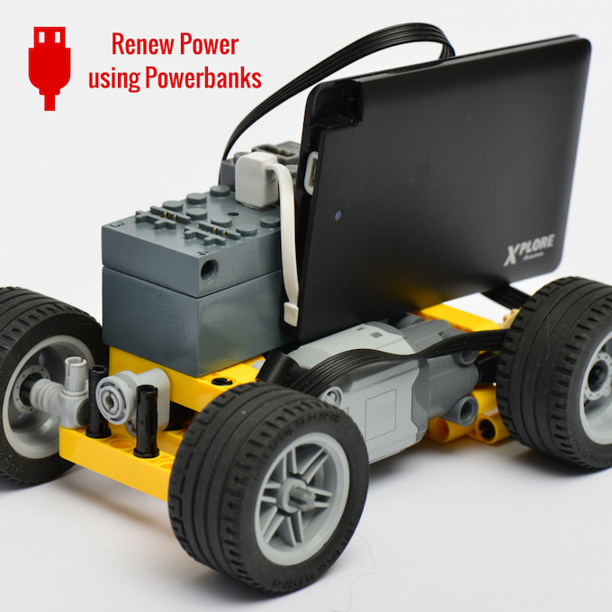 buwizz remote control and battery for lego models by. Black Bedroom Furniture Sets. Home Design Ideas