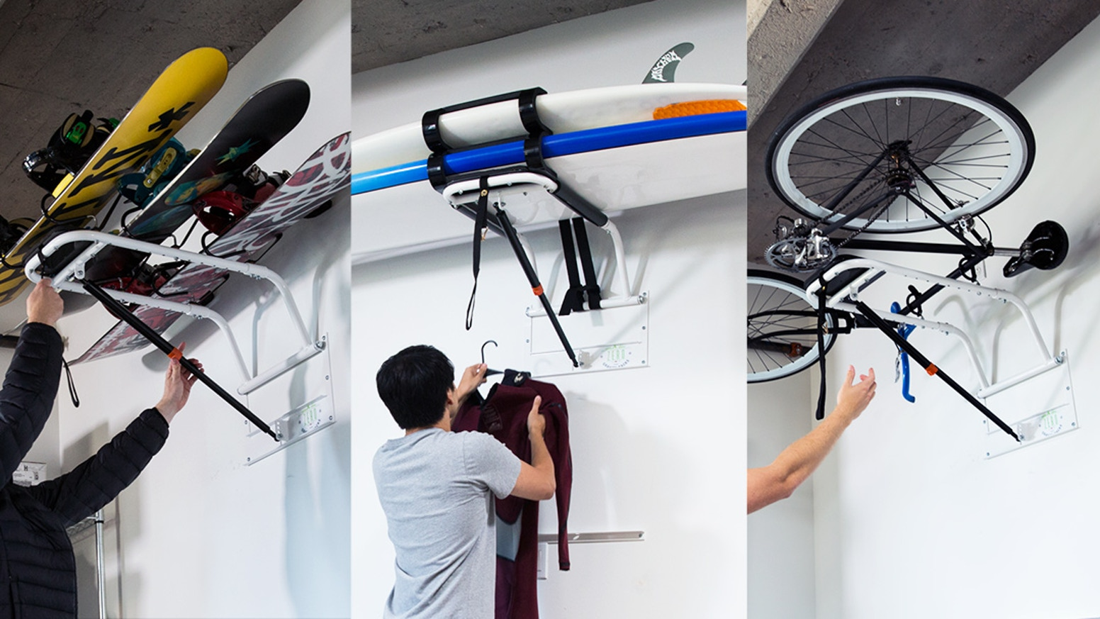 Zero Gravity Racks: The Storage Rack Everyone Needs by Mark ...
