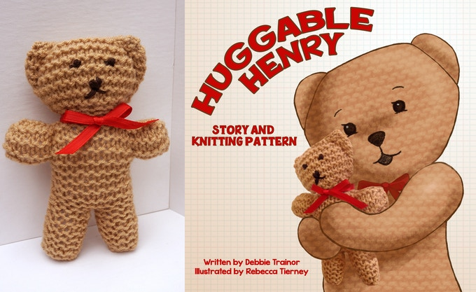 Knit Bear and Illustrated Storybook