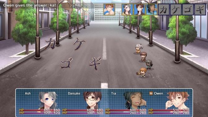 Translate the enemy Katakana to deal damage!