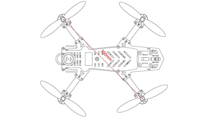 Falcon FPV300 : The First Racing Drone Designed for