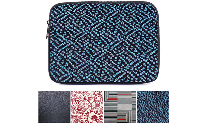 WOVNS Laptop Case in Spritzer. Select from 4 patterns.