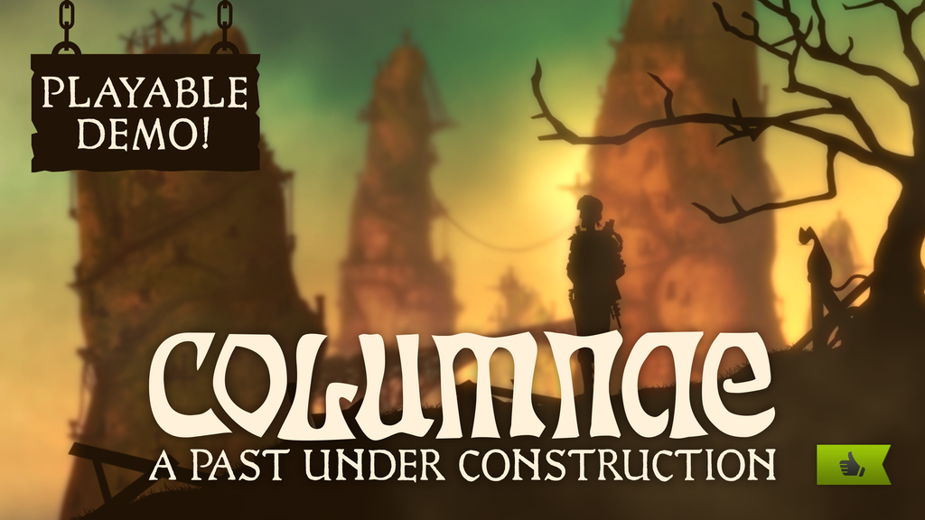 COLUMNAE: A Past Under Construction (point&click adventure) project video thumbnail