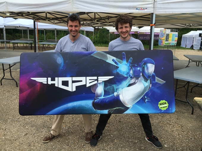 Team HOPE at PEL Festival in Paris
