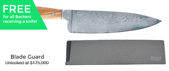 Bulat Your Go To Kitchen Knife By Bulat Kickstarter