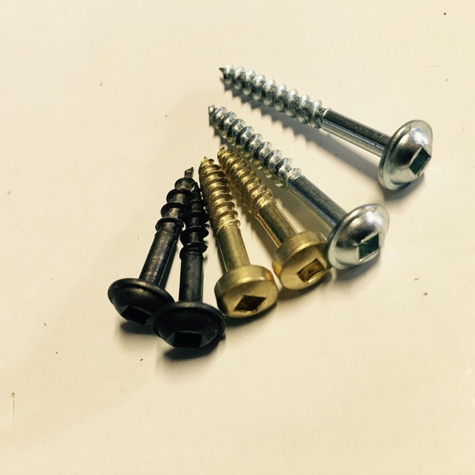 Standard Bronze, Brass, & Nickel/Steel Hardware