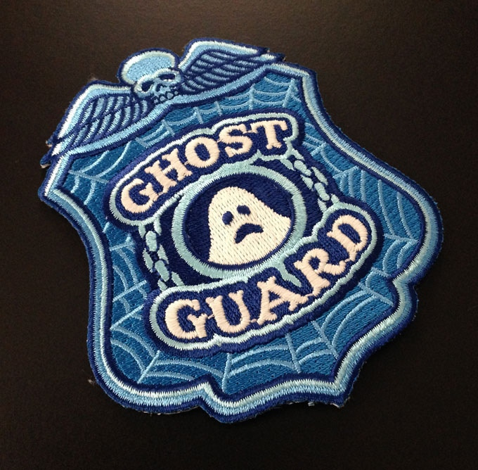 Ghost Guard glow-in-the-dark patch