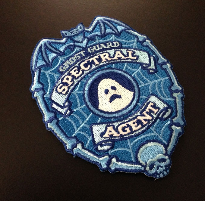 Spectral Agent glow-in-the-dark patch.