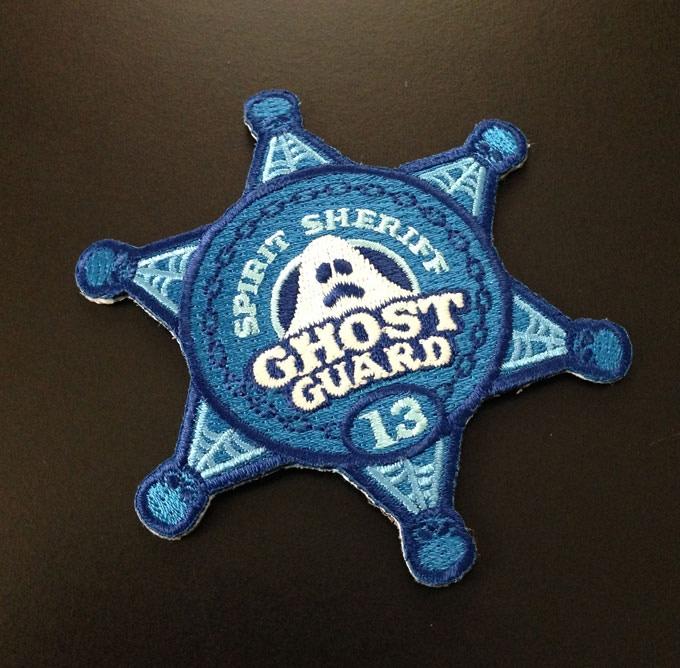 Spirit Sheriff glow-in-the-dark patch.