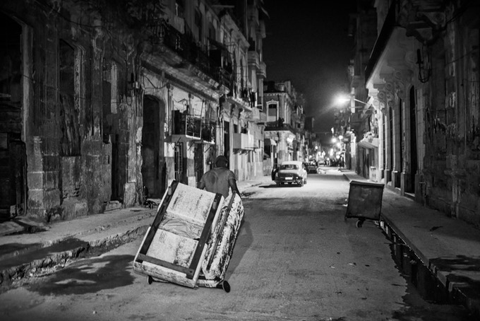Central Habana at Night by Geoff Livingston