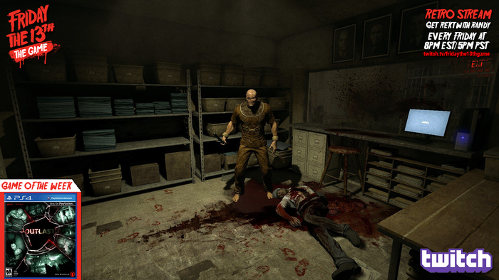 Tonight we're playing Outlast on PS4 at 8pm EST! Join us!