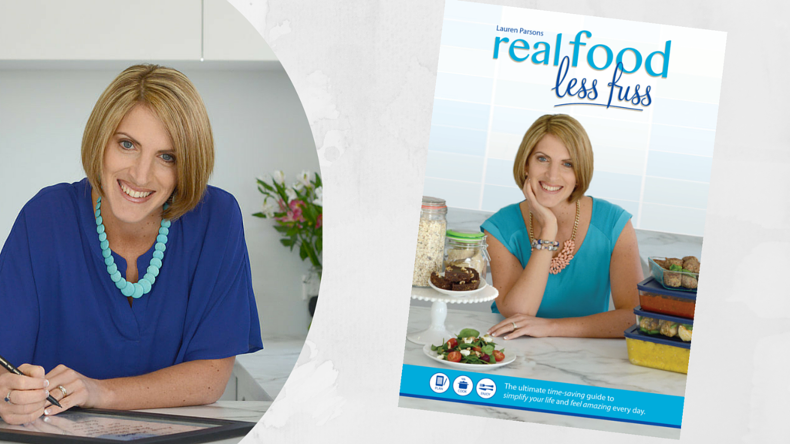 Much more than just a cook book. The ultimate time saving guide to simplify your life, eat mindfully and feel amazing every day!  Follow the link below for details.