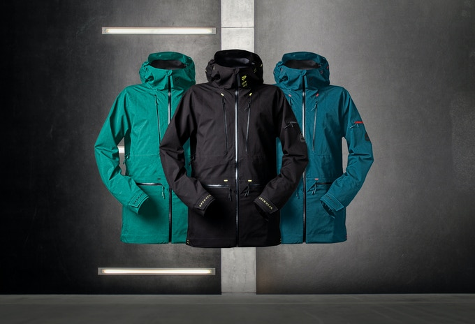 The Open One is available in three colours: green, black and blue