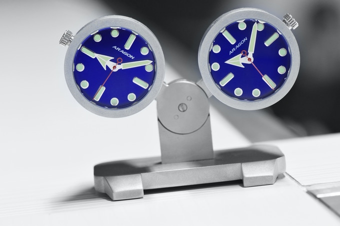 Aragon 174 Watch Jet Clock Inspired By A Jet Engine By