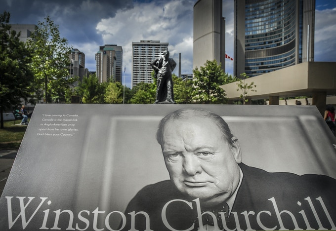 Sir Winston Churchill Memorial - Toronto, Canada