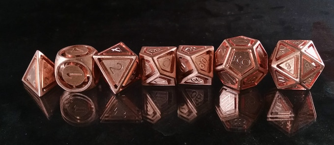 Floating Polyhedrals in Copper
