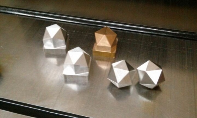 tep #2 - Shape the Dice One by One with Precision CNC Machines