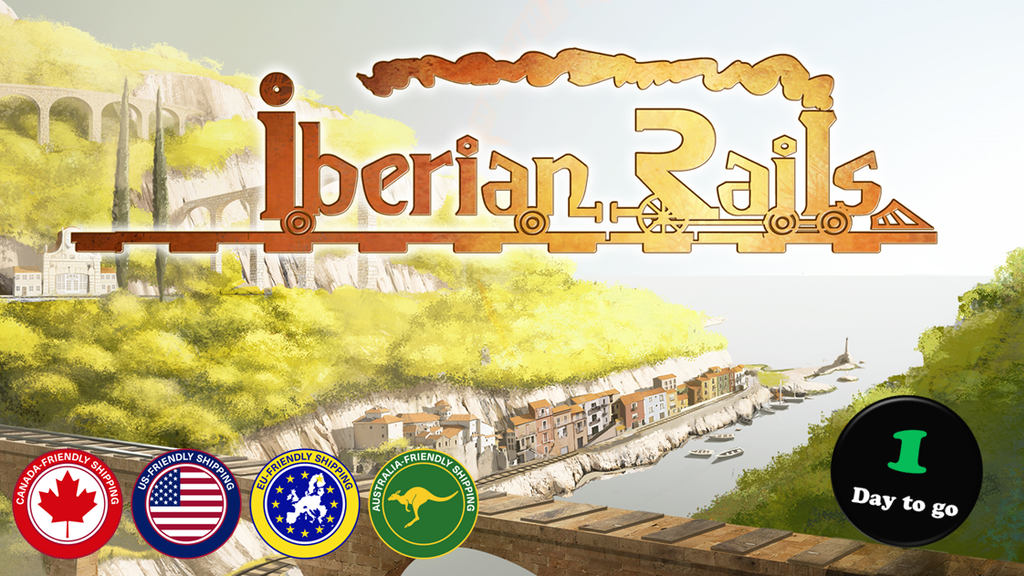 Iberian Rails, An Economic Train Game project video thumbnail