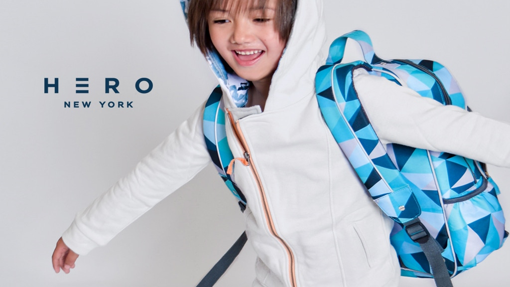 HERO NEW YORK: Bold backpacks to inspire confidence. project video thumbnail