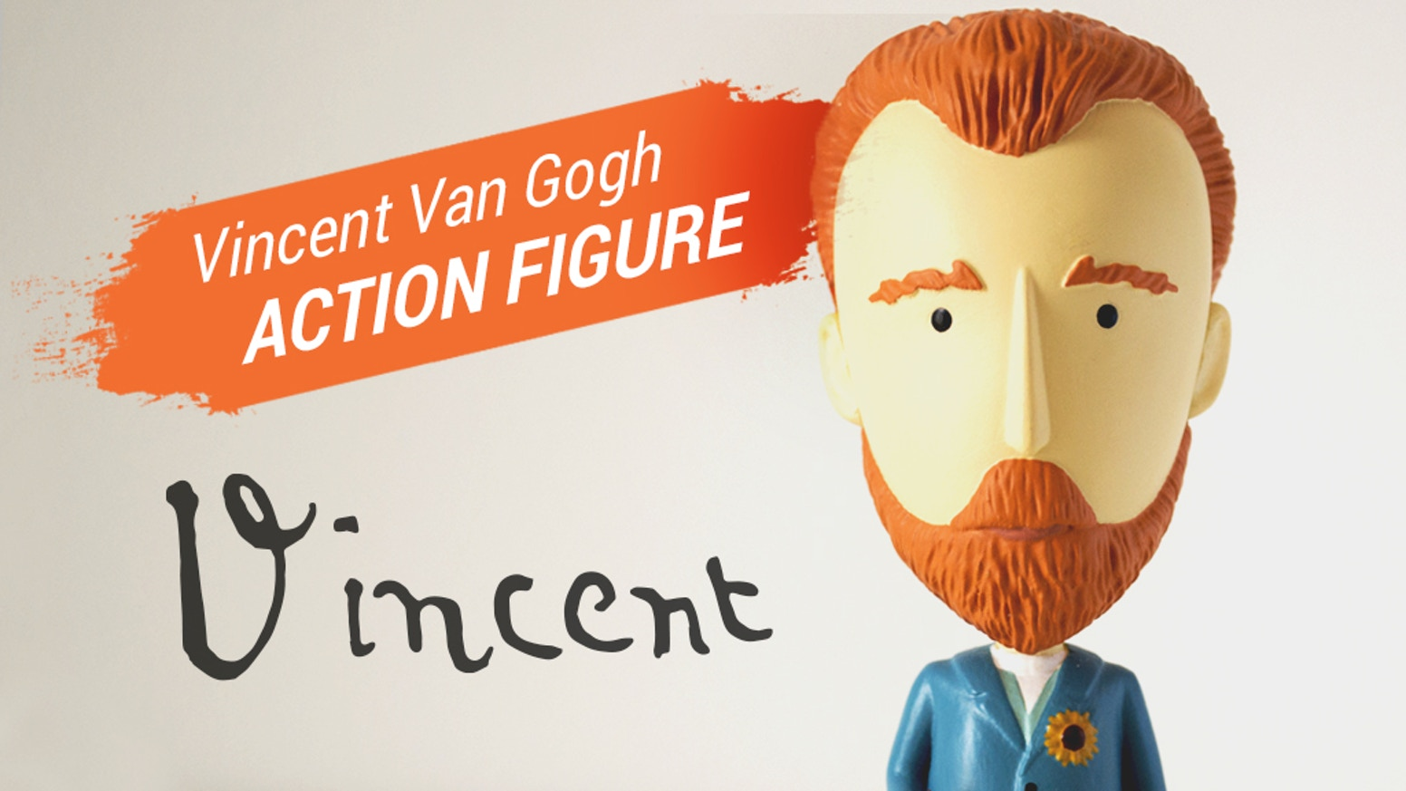 The Vincent van Gogh action figure is happening! Want yours?