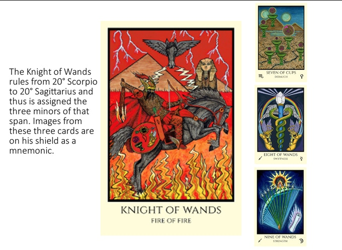 Tabula Mundi Tarot Colores Arcus: esoteric Thelemic deck art