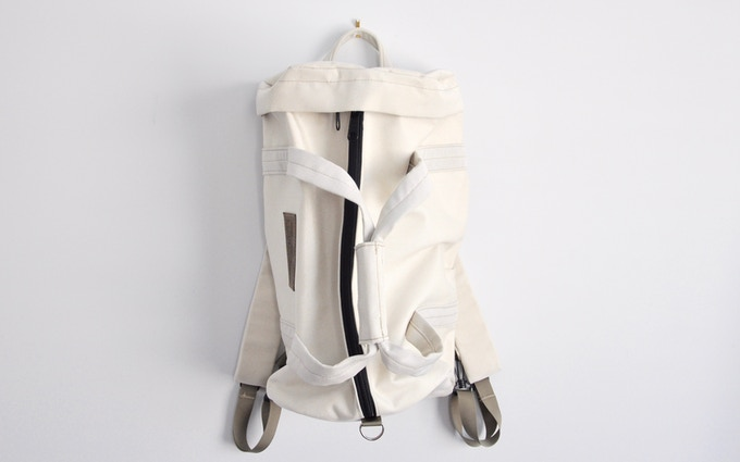 Converts into a duffle bag or backpack