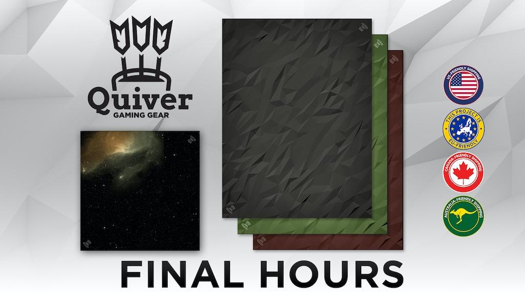 Quiver Gaming Gear Premium Playmats & Tabletop Gaming Mats project video thumbnail