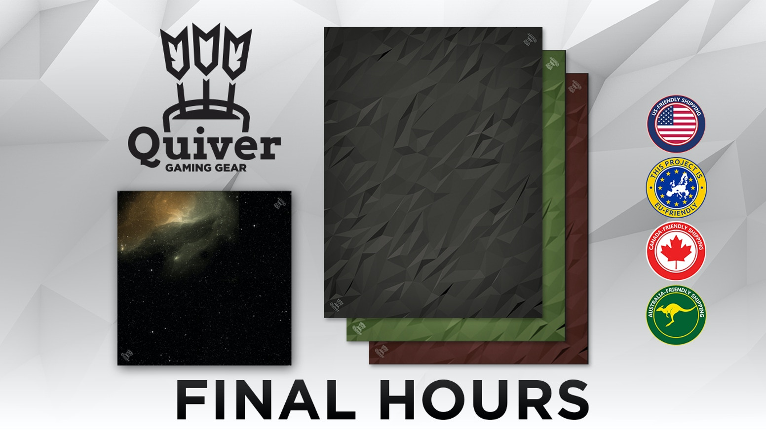 The most premium playmats and table top gaming mats ever developed.  Crafted for casual and professional gamers to give an enhanced gaming experience. Sign up for our email list on our website for the next opportunity to order.