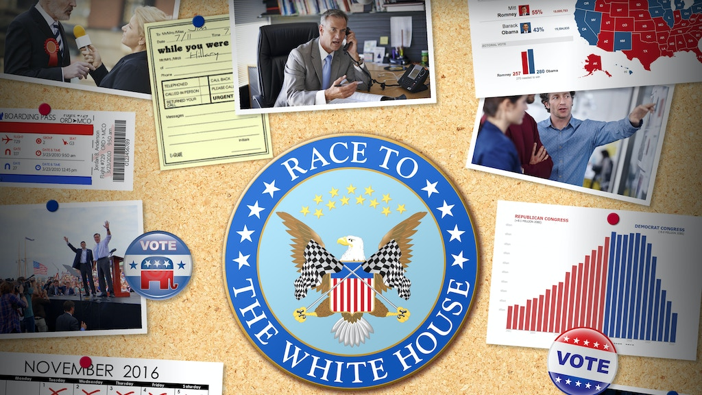 Race to the White House project video thumbnail