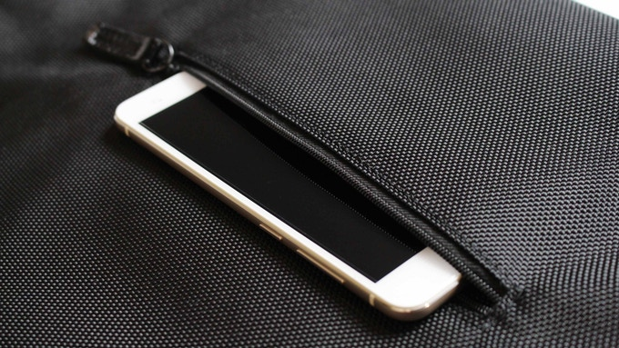 Unique back pocket for smart-phone, wallets, all the clumsy and bumky items that used to be in your pants.