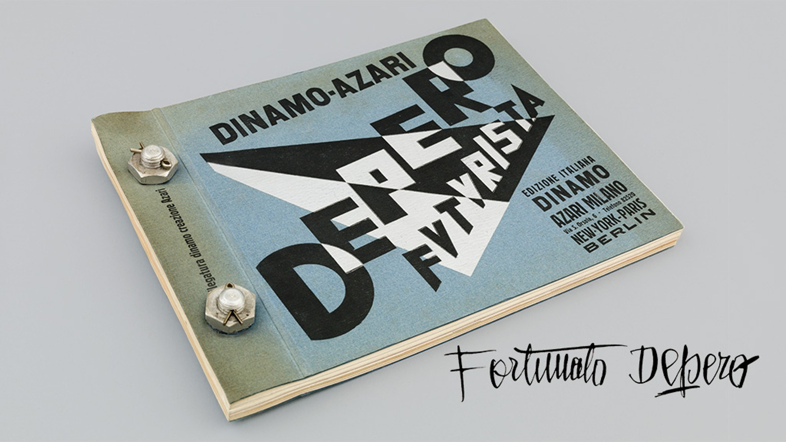 Help us publish the first exact copy of Fortunato Depero's 1927 iconic work of avant-garde graphic design and book-making.