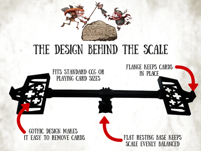 We spent a year refining the design of the Cosmic Balance scale.