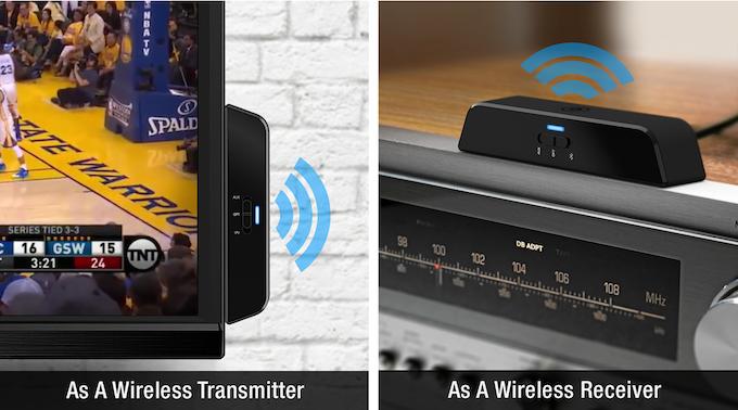 auris beamit Wireless Bluetooth Audio Transmitter & Receiver